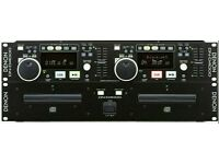 Denon DND4000 dual dj cd players industry standard