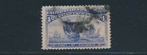 "United States (1893) ""4c COLUMBIAN"" #233; USED; XF; BEAUTIFUL STAMP"