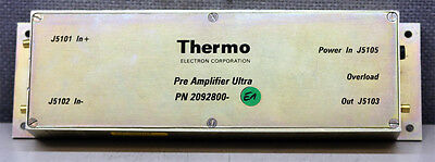 Thermo Electron Corporation Finnigan 2092800 Pre Amplifier Ultra