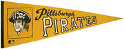Vintage Pittsburgh Pirates Pennant