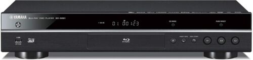 Yamaha BD-S681 4K-Upscaling Wi-Fi and 3D Blu-ray Disc Player, Black