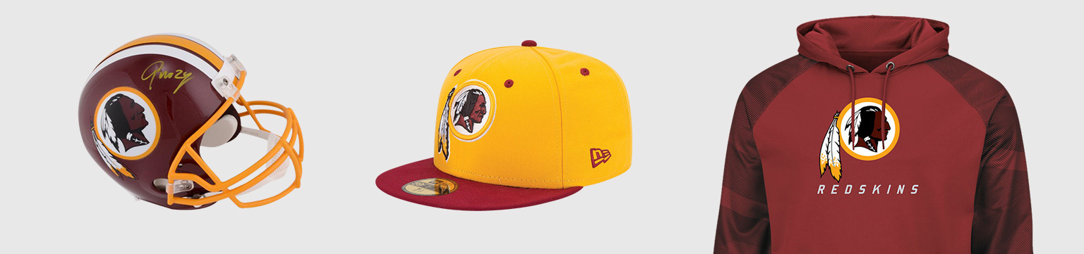 a68fdeff3 Washington Redskins Authentic Fan Apparel   Collectibles