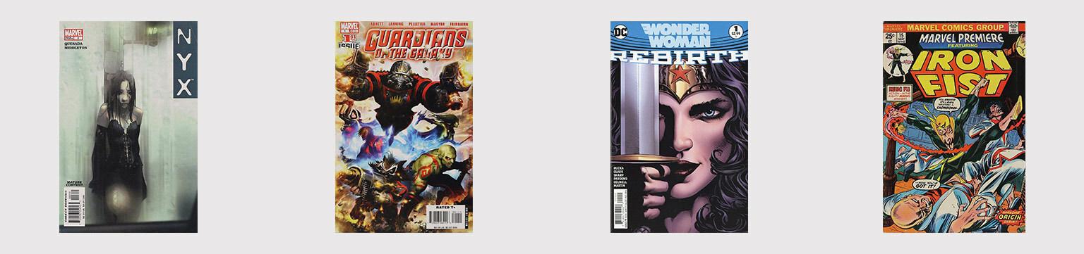 Comic Blockbuster Heroes of 2017