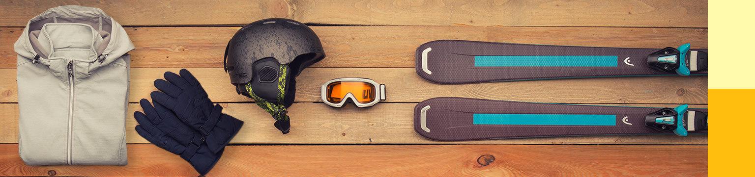 Wintersport-Equipment festlich reduziert