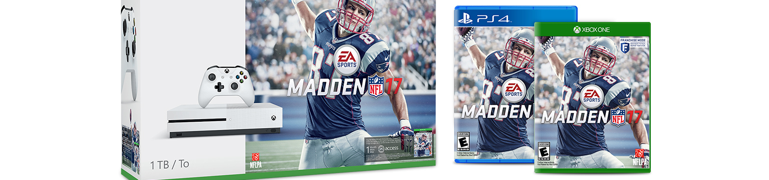 Madden NFL 17 now available on eBay