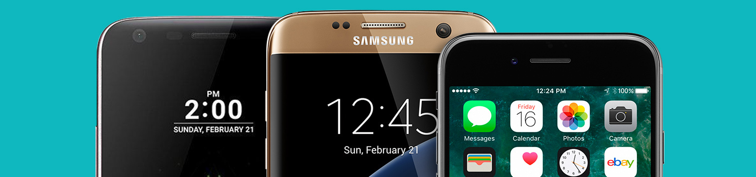 Up to 30% off Samsung, Apple, LG, HTC & more