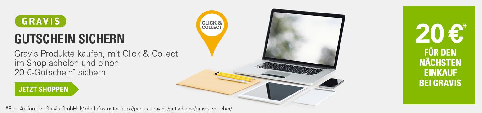 20€ Gravis-Gutschein mit Click & Collect