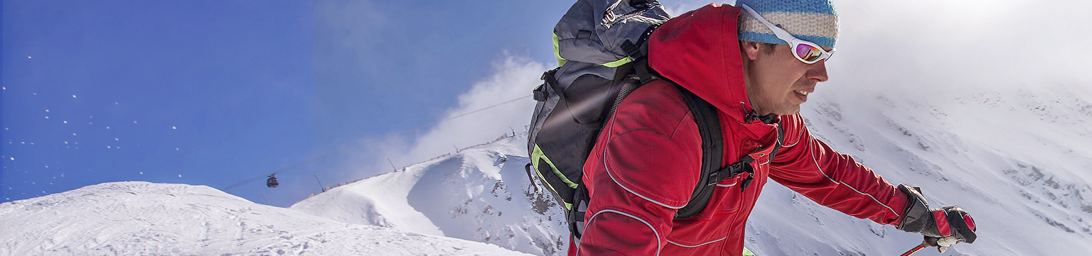 Skier, Skischuhe und mehr für den Alpin-Sport
