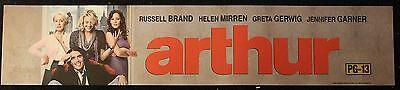 Arthur, Large (5X25) Movie Theater Mylar Banner/Poster