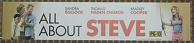 All About Steve, Large (5X25) Movie Theater Mylar Banner/Poster