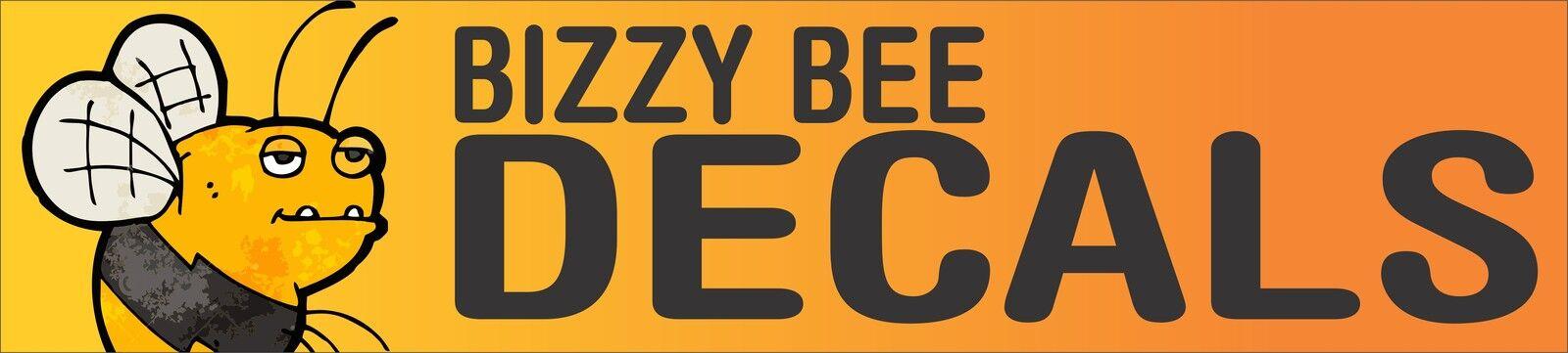 BIZZY BEE DECALS
