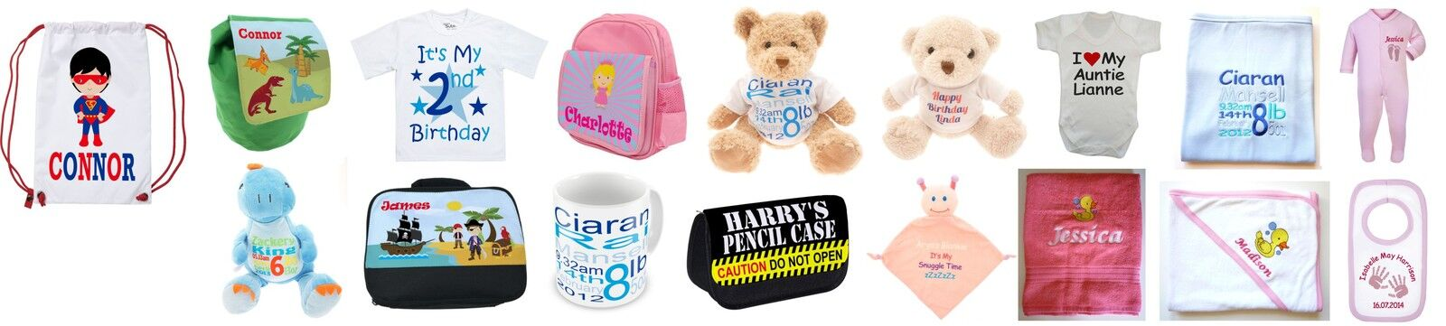 Ready Teddy Go Personalised Gifts