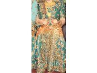 Wedding lenga indian matching jewellery