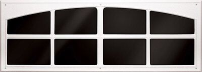 Coach House Accents Simulated Garage Door Window (2 windows per kit), WHITE
