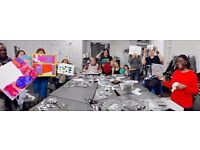 Studio volunteers needed in art workshops for people with learning difficulties