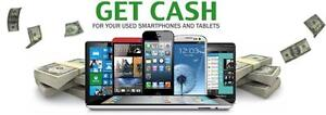 Sell your Phones for Cash. We buy Iphones, Samsung, Blackberry and Other models.