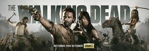 The Walking Dead 1 2 3 4  TV Zombie Fabric poster 36