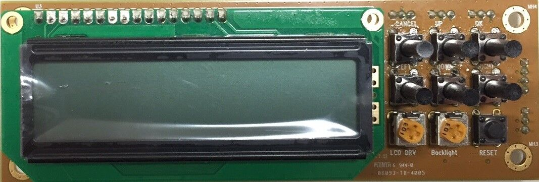 HL-100R Rx LCD control module for HV-110/120/122