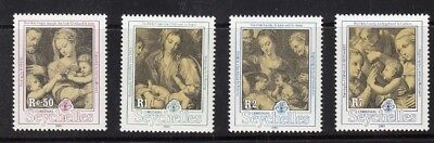 SEYCHELLEN, 1991 Weihnachten 752-55 **, (24748)