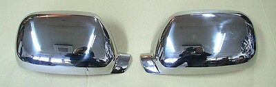 CHROME WING MIRROR COVERS VW TOUAREG 2002 112006 STAINLESS STEEL