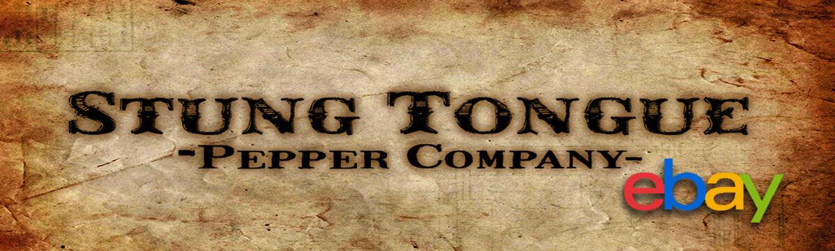 stung tongue pepper company