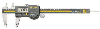 Fowlersylvac 54-100-067 Ip67 S-cal Pro Electronic Caliper 0-6150mm