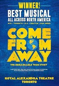 Come From Away 10 Nov Matinee