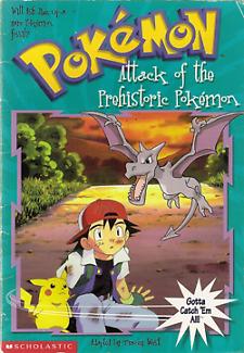 Pokemon Attack of the Prehistoric Pokemon