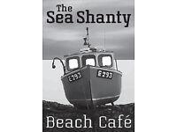 Head chef for beach cafe (no splits, no nights!) - Branscombe, Devon