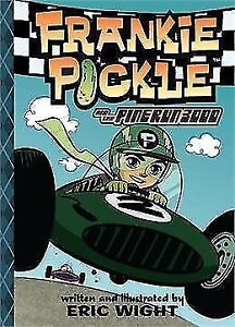 3 books: Speed Racer; Frankie Pickle & Go Kart Rush LIKE NEW