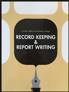 Social Work book Record Keeping and Report Writing