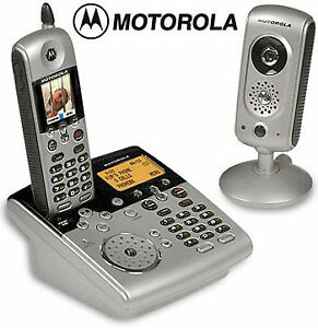 Motorola Cordless phone with wireless camera, baby monitor