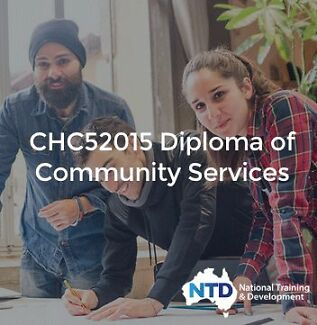 Diploma of Community Services - $0 to pay UPFRONT! Brisbane City Brisbane North West Preview