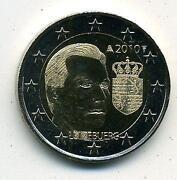 2 Euro Luxemburg 2010