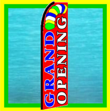Grand Opening Feather Swooper Banner Advertising Flag