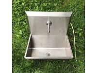 Stainless steel sink/ drink fountain