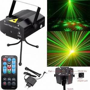 Mini LED RG Laser Projector Stage Lighting Lamp DJ Disco Party C