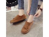 Suede Casual slip on shoes