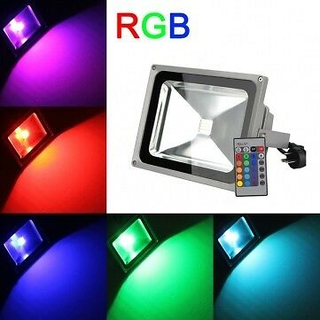 50W LED RGB FLOODLIGHT - ALL THE BRIGHTNESS WITH ALL THE SAVINGS