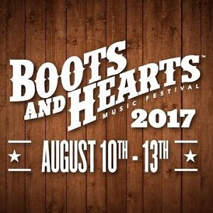 1 General Admission Boots & Hearts Ticket