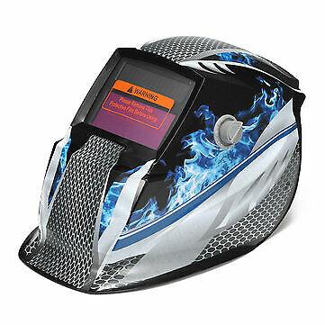 Solar Auto Darkening Welding Helmet Welder Mask Grind Protective Shield