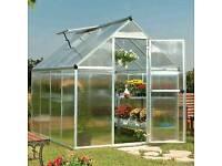 New Palram mythos 6x8 greenhouse
