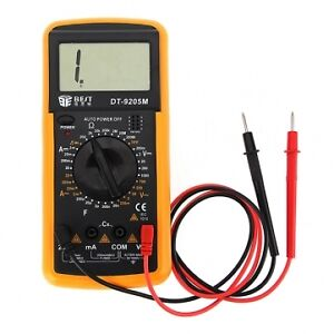 digital lcd multimeter messger t transistor voltmeter amperemeter volt ampere ebay. Black Bedroom Furniture Sets. Home Design Ideas