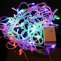 LED Fairy Light 10M Colourful: Blue+Green+Red+Yellow Single