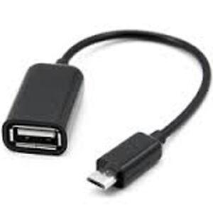 Micro USB OTG câble adaptateur pour Samsung HTC Tablet Sony3.25$