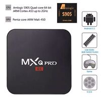 Android Box - quad core processor - 4K and 3D