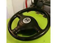 VW Airbag steering wheel