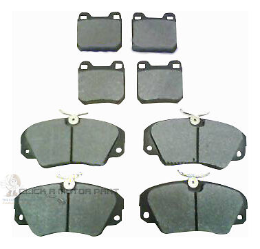 VAUXHALL OMEGA 1994-2004 FRONT AND REAR BRAKE DISC PADS NEW FULL SET