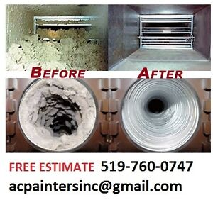 Duct Cleaning Services - All Home Sizes - Free Estimate Kitchener / Waterloo Kitchener Area image 1