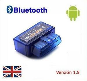 Peugeot Torque Android Bluetooth OBD2 Wireless CAN BUS Scanner Diagnostic Tool